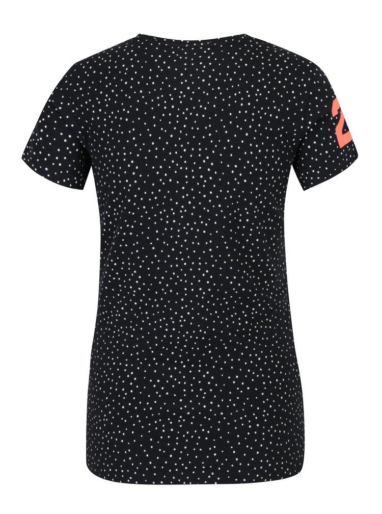 Tricou bleumarin cu print pentru femei - Superdry Vintge