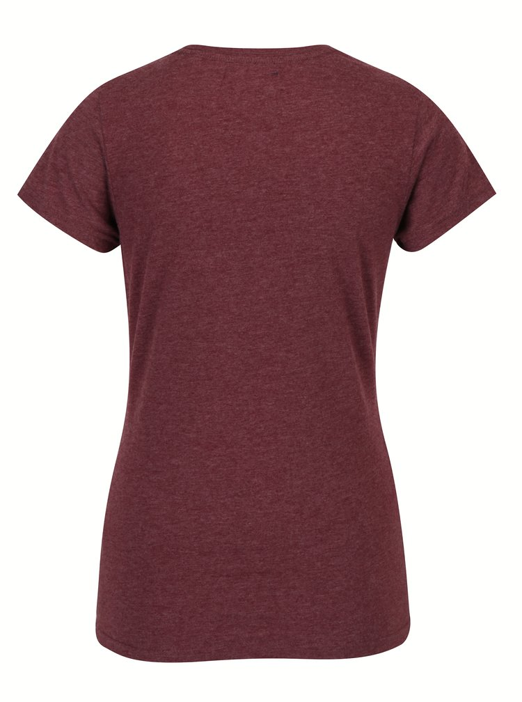 Tricou bordo cu model din paiete pentru femei - Superdry Vintage