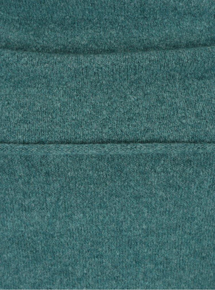Zelený dámský svetr s lodičkovým výstřihem Garcia Jeans