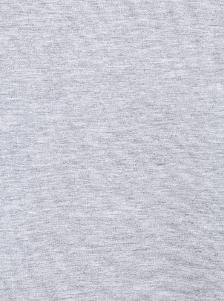 Šedé žíhané tričko Lindbergh