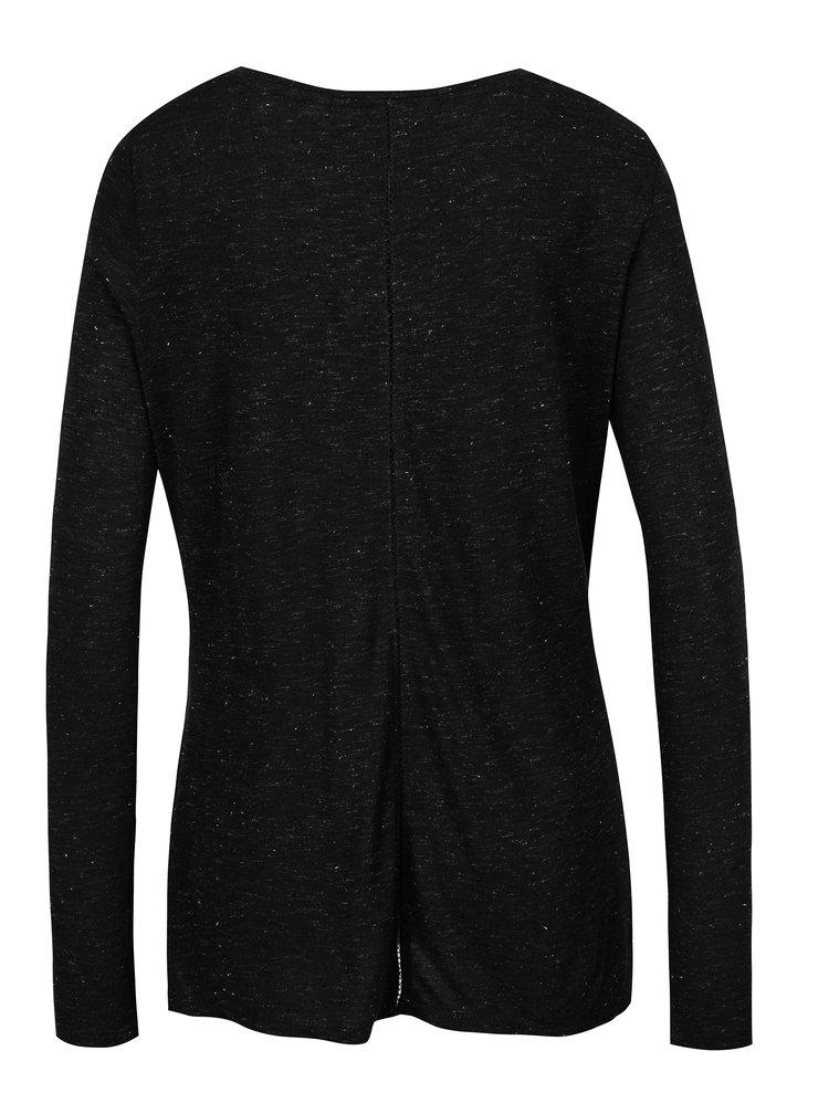 Bluza negru melanj pentru femei Garcia Jeans