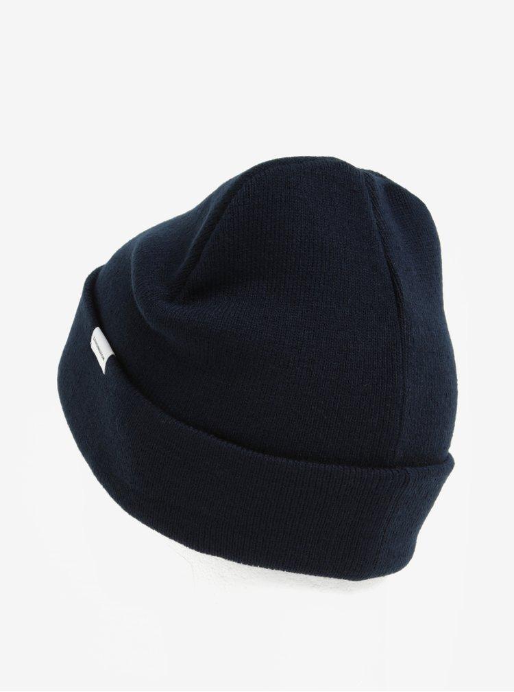 Tmavě modrá čepice Lindbergh