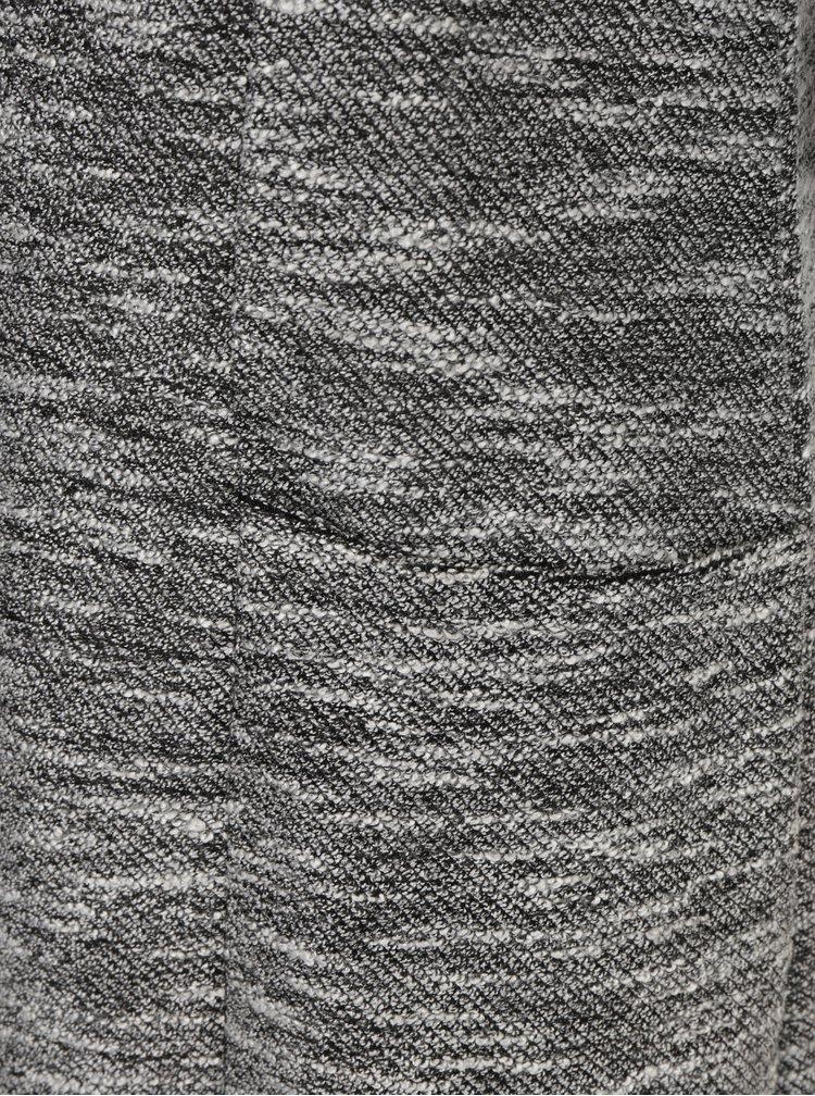 Šedé žíhané šaty s volány Miss Selfridge