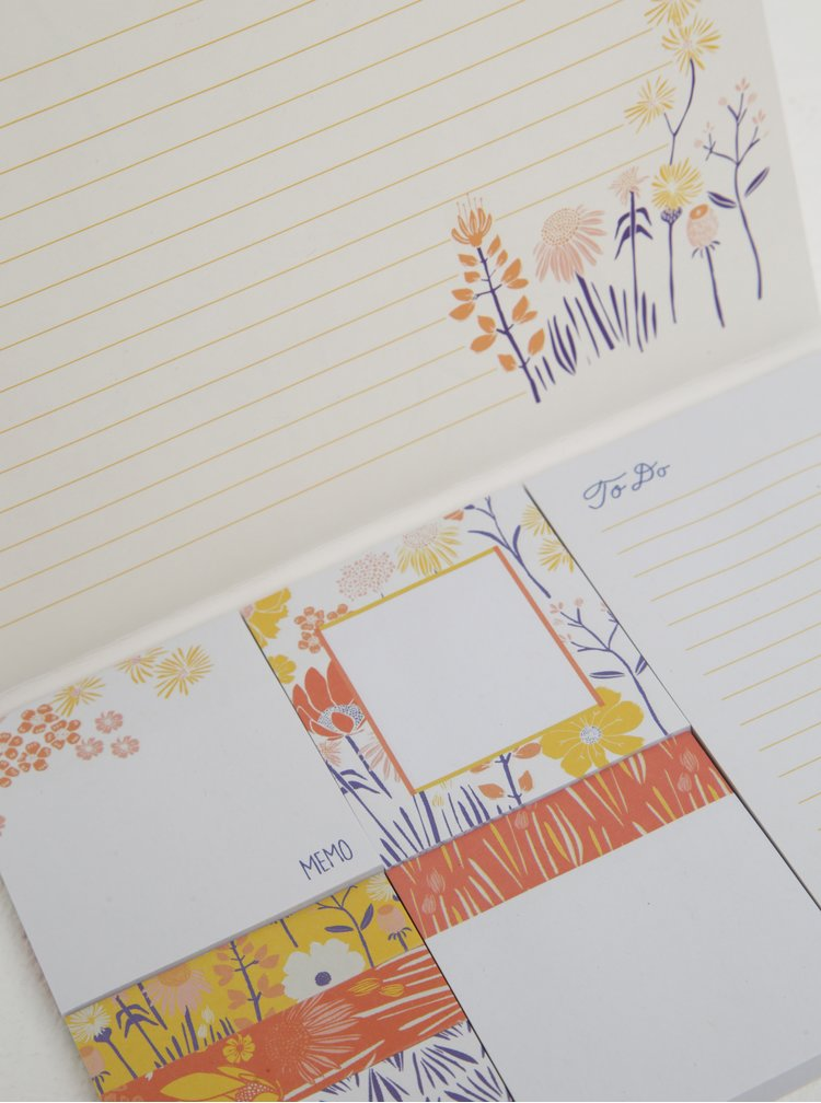Set de sticky notes cu print - Galison