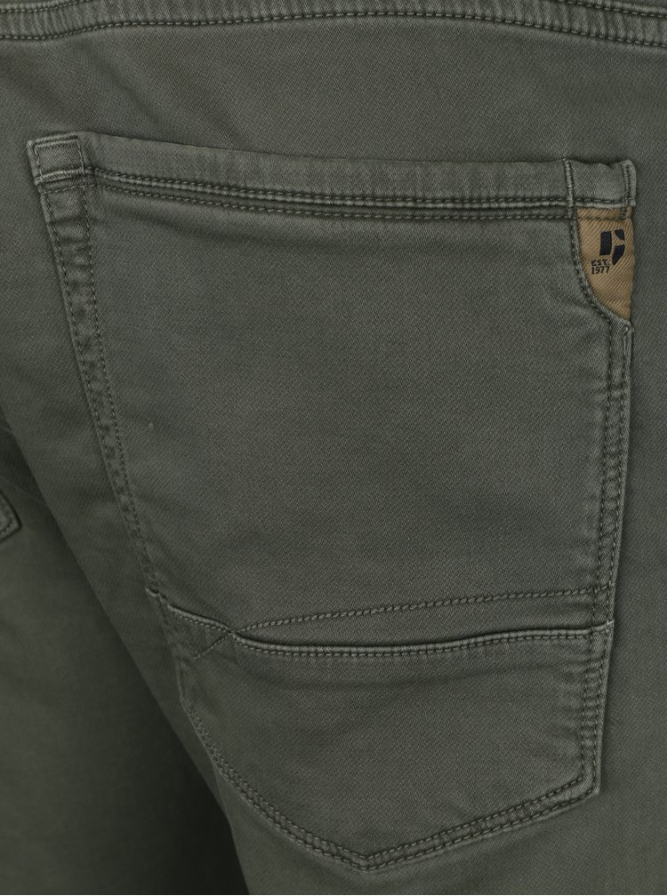 Světle zelené pánské stretch tapered fit džíny Garcia Jeans