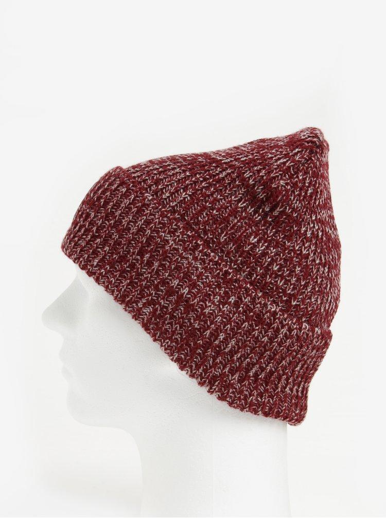 Caciula tricotata bordo cu aplicatie cusuta pentru barbati-  Nugget Killer