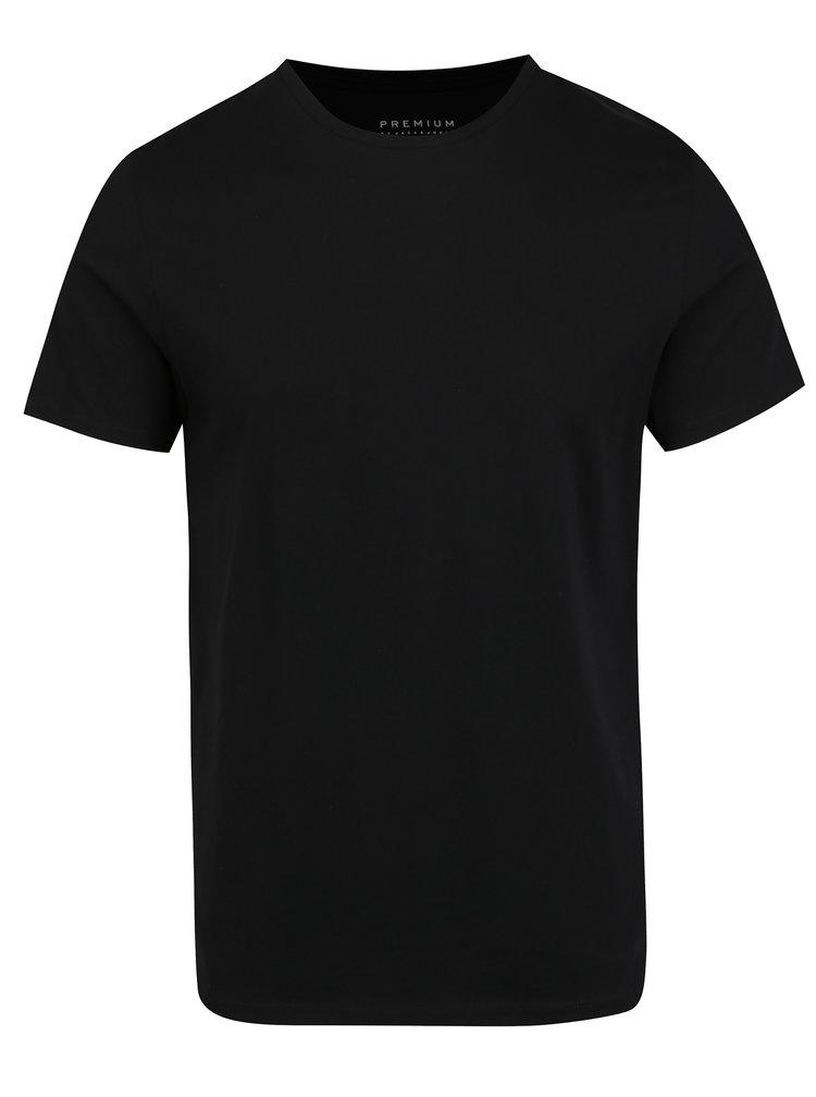 Set de 2 tricouri alb & negru basic Jack & Jones Premium Pack