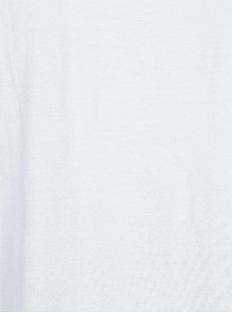 Sada dvou triček pod košili v černé a bílé barvě Jack & Jones Premium Pack