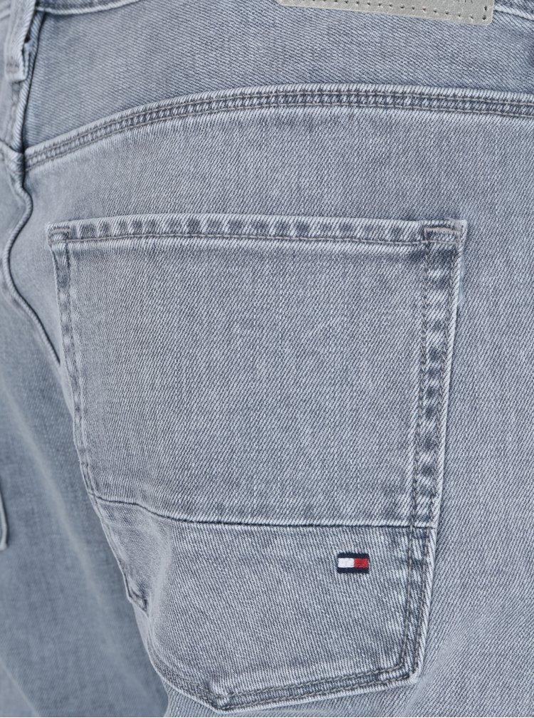 Světle šedé pánské slim fit džíny Tommy Hilfiger