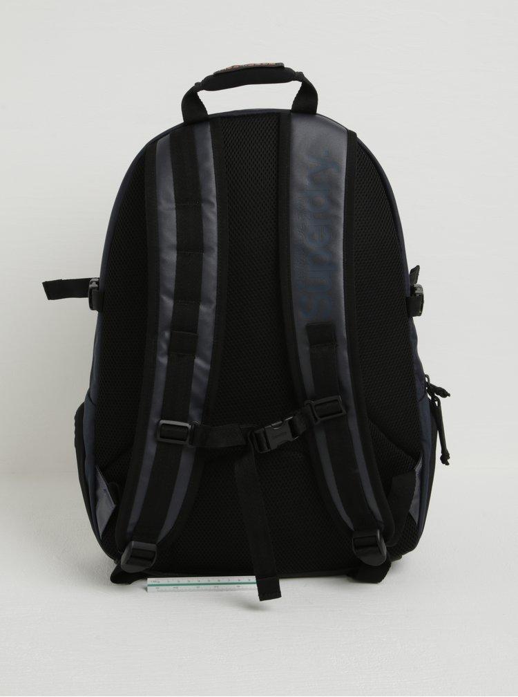 Rucsac urban unisex bleumarin cu buzunar pentru laptop -  Superdry Mono 21 l