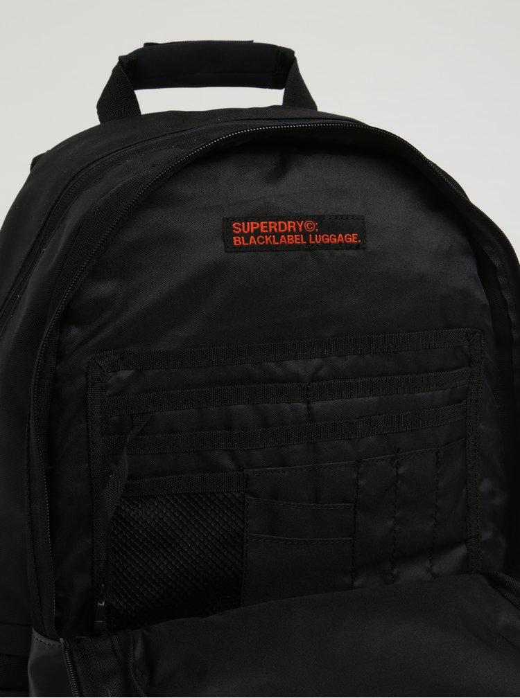 Rucsac urban unisex negru & bleumarin cu buzunar pentru laptop -  Superdry Mono 21 l