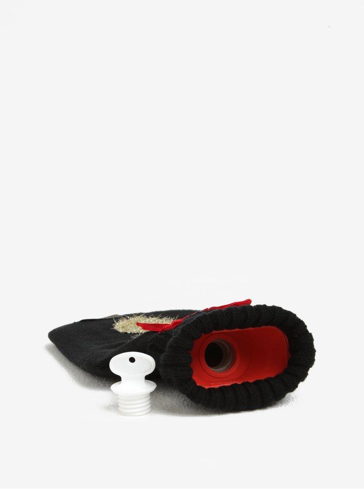 Termofor negru&rosu cu model ren Something Special