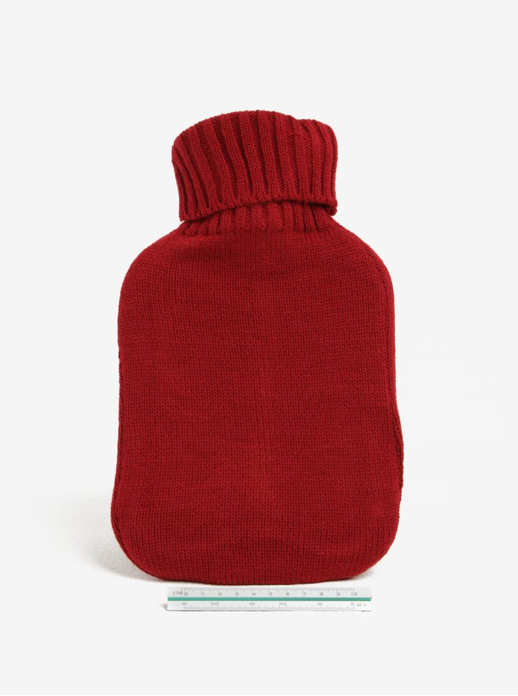 Červená nahřívací láhev Something Special