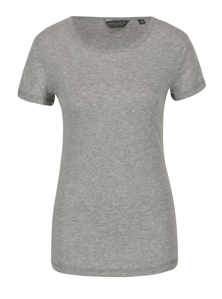 Tricou basic  gri deschis Dorothy Perkins Tall