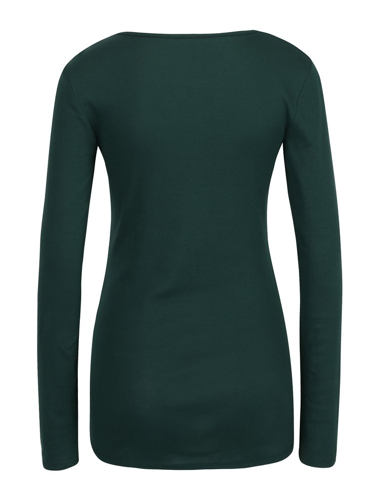 Bluza basic verde inchis Dorothy Perkins Tall