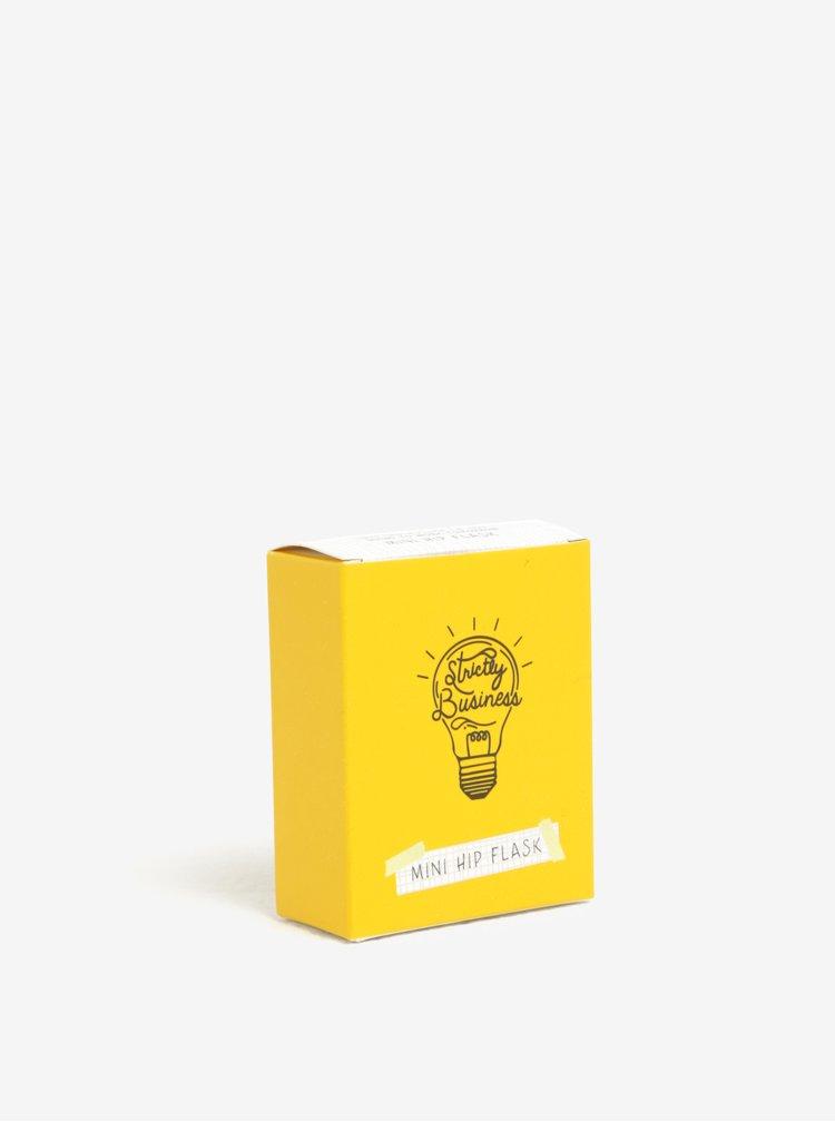Žlutá mini placatka s karabinou CGB