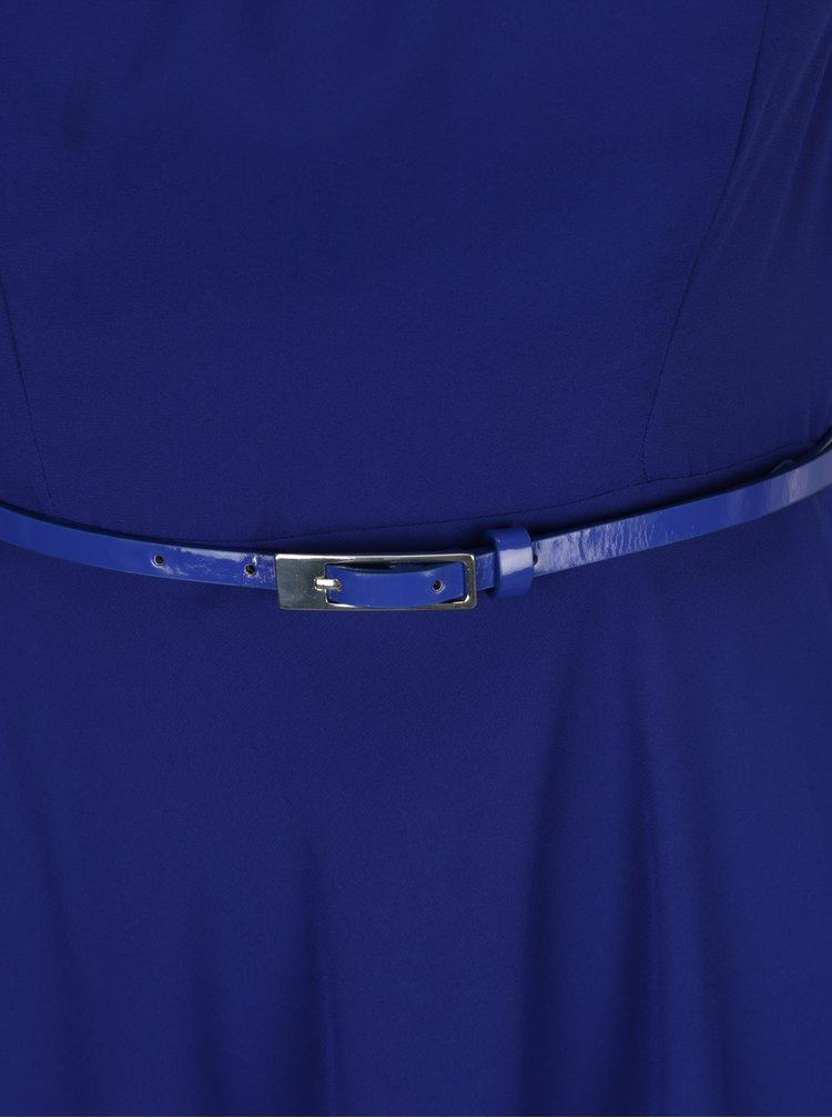Rochie albastra cu curea in talie Billie & Blossom Petite