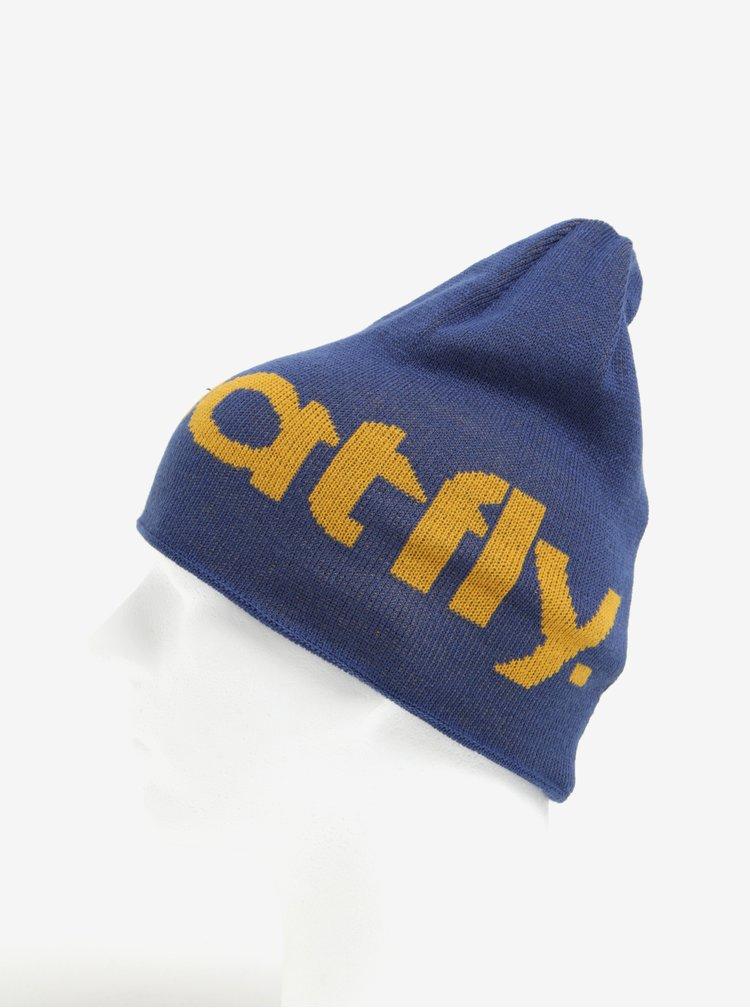 Tmavě modrá pánská čepice MEATFLY Delta Beanie