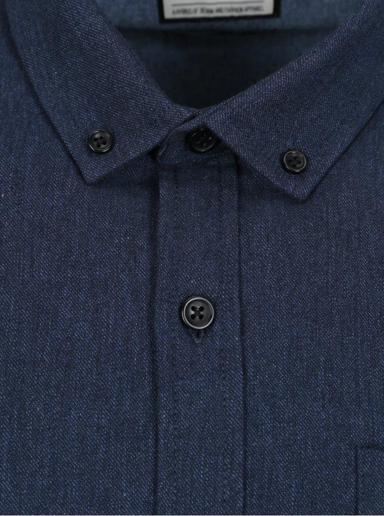 Tmavě modrá košile Shine Original