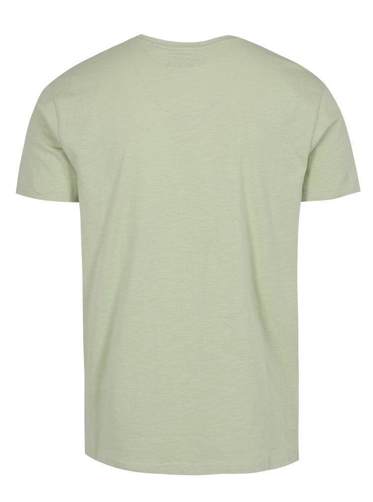 Tricou verde cu print funny Shine Original