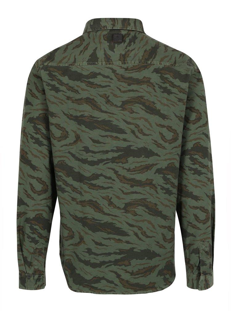 Zelená vzorovaná košile Shine Original