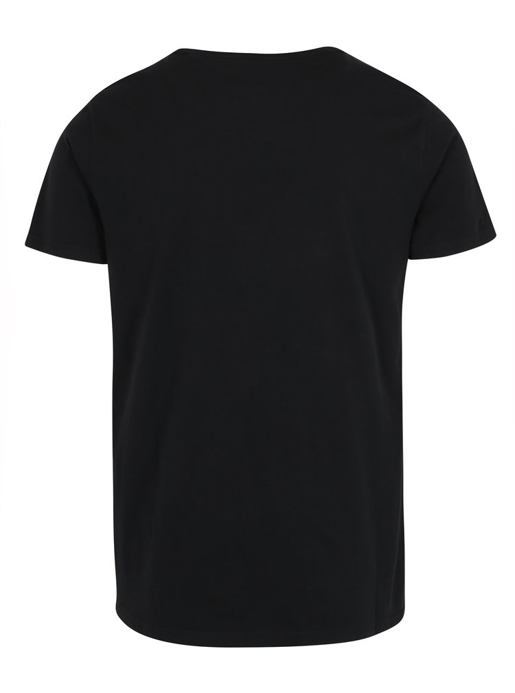 Černé tričko s potiskem Shine Original