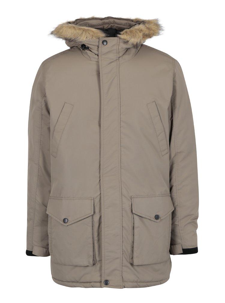 Béžová zimní bunda Shine Original