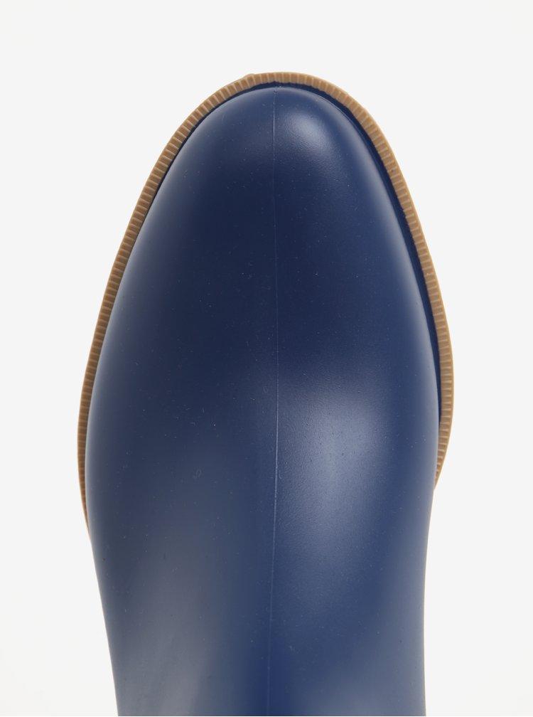 Modré dámské kotníkové holínky OJJU