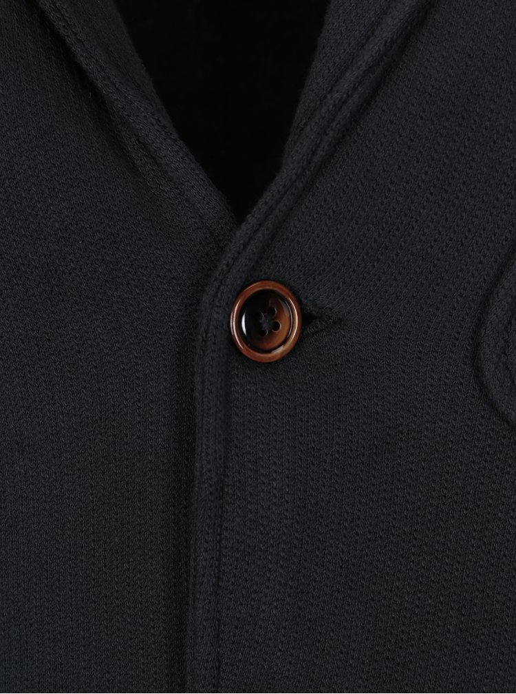 Černé mikinové sako Jack & Jones Vintage Danley