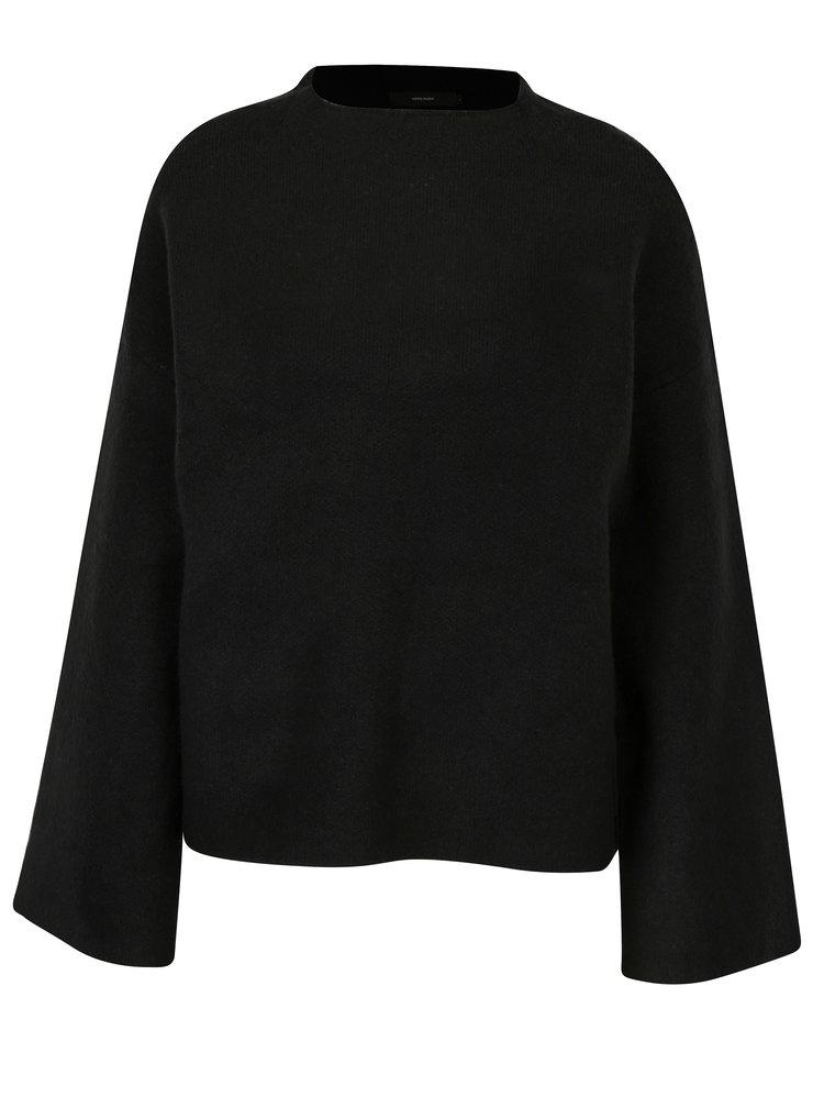 Pulover negru oversized cu maneci clopot - VERO MODA Campbell