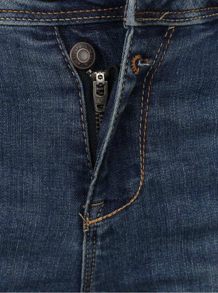 Modré slim fit džíny VERO MODA Tammi
