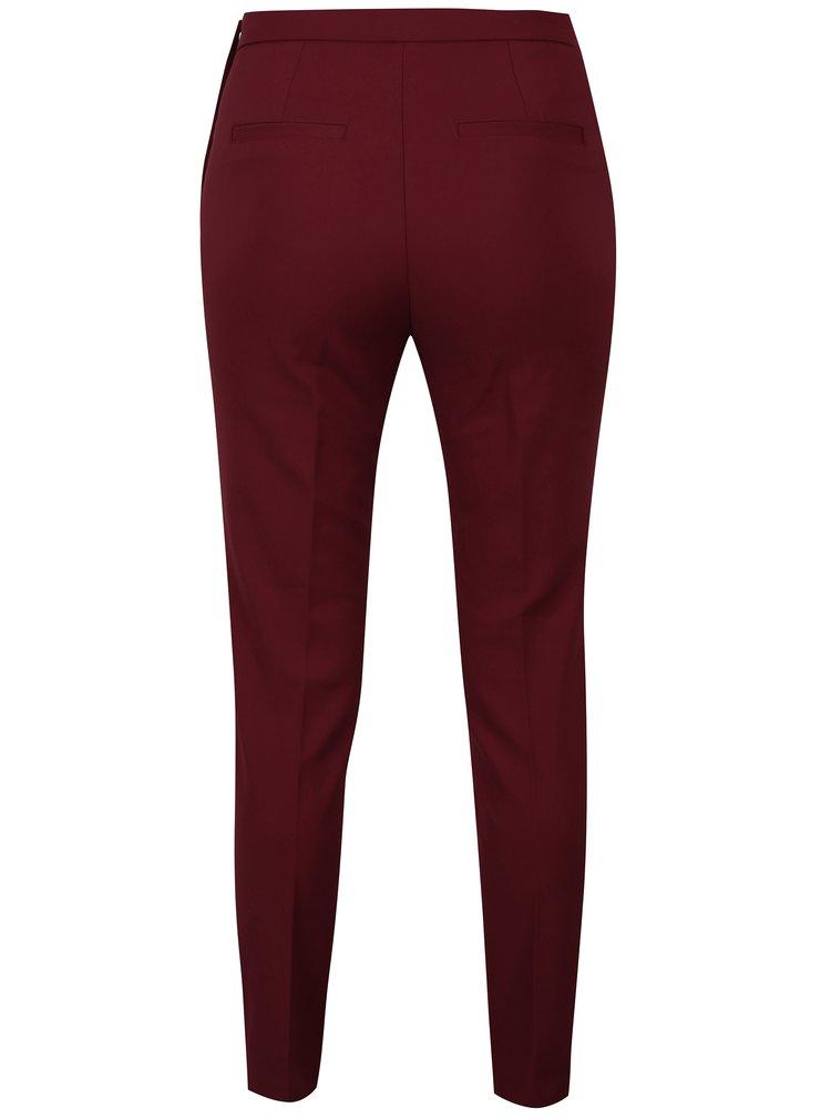 Vínové kalhoty VERO MODA Pitollo