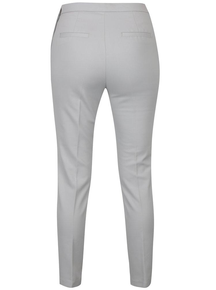 Světle šedé kalhoty VERO MODA Pitollo