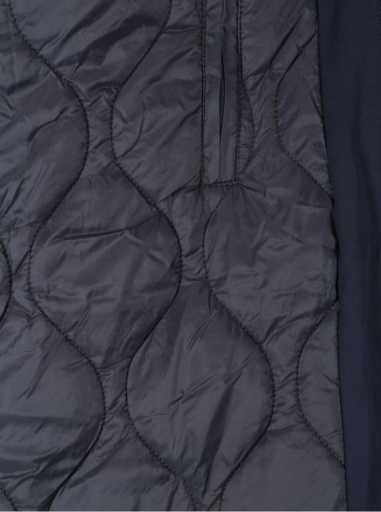 Tmavě modrý pánský zimní kabát SUIT Kodiak