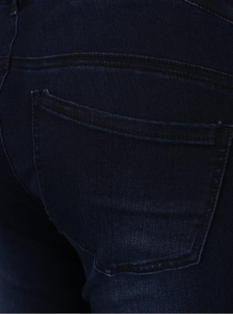 Tmavě modré těhotenské slim džíny Mama.licious Dixie
