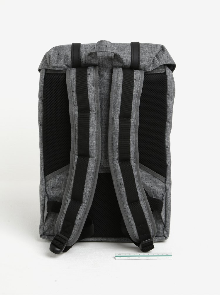 Rucsac gri& negru cu print buline Herschel Little America 17 l