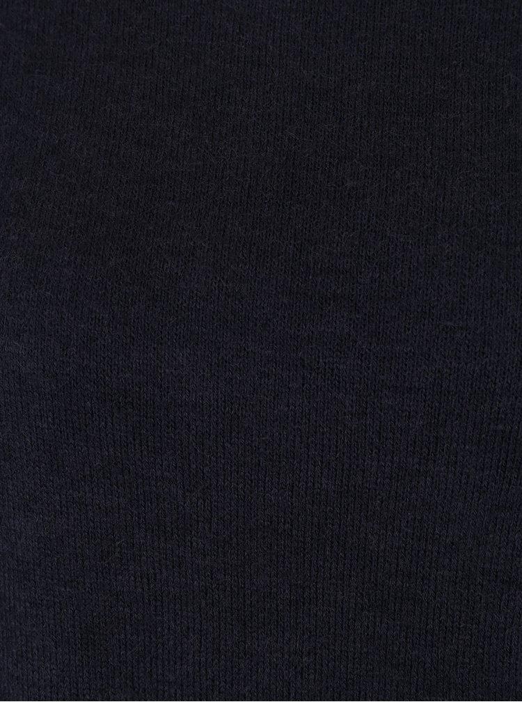 Tmavě modré svetrové šaty VERO MODA Ylda