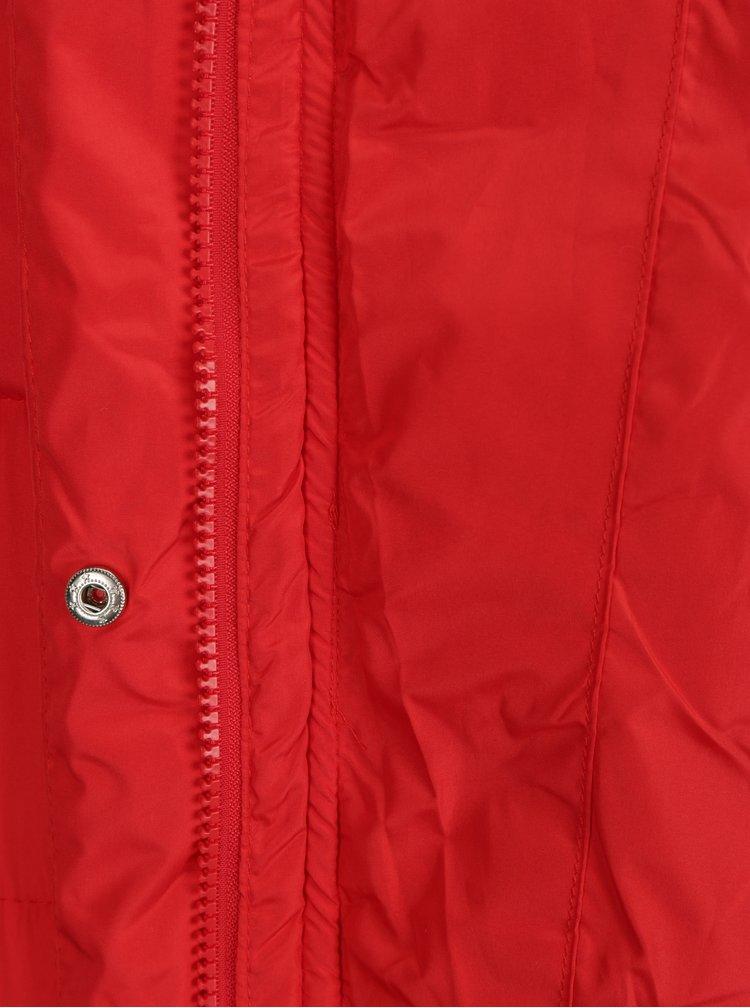 Červená prošívaná bunda Haily´s Valerie