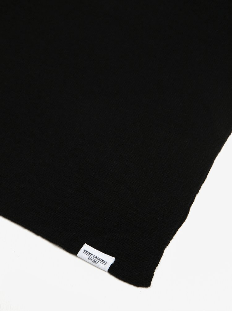 Fular negru - Shine Original