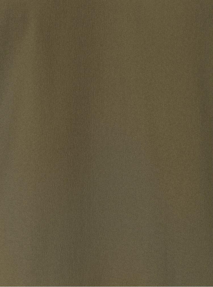 Khaki halenka s odhalenými rameny Noisy May Jenny
