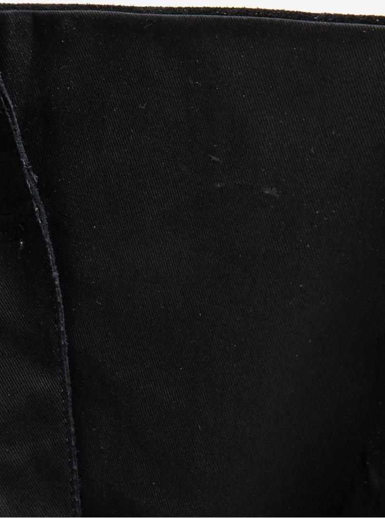Černé semišové kozačky se šněrováním Vagabond Daisy
