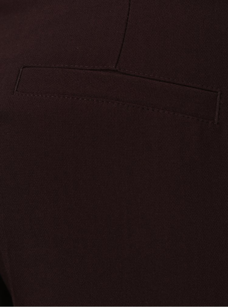 Pantaloni bordo cu cordon in talie pentru femei - Broadway Naiara