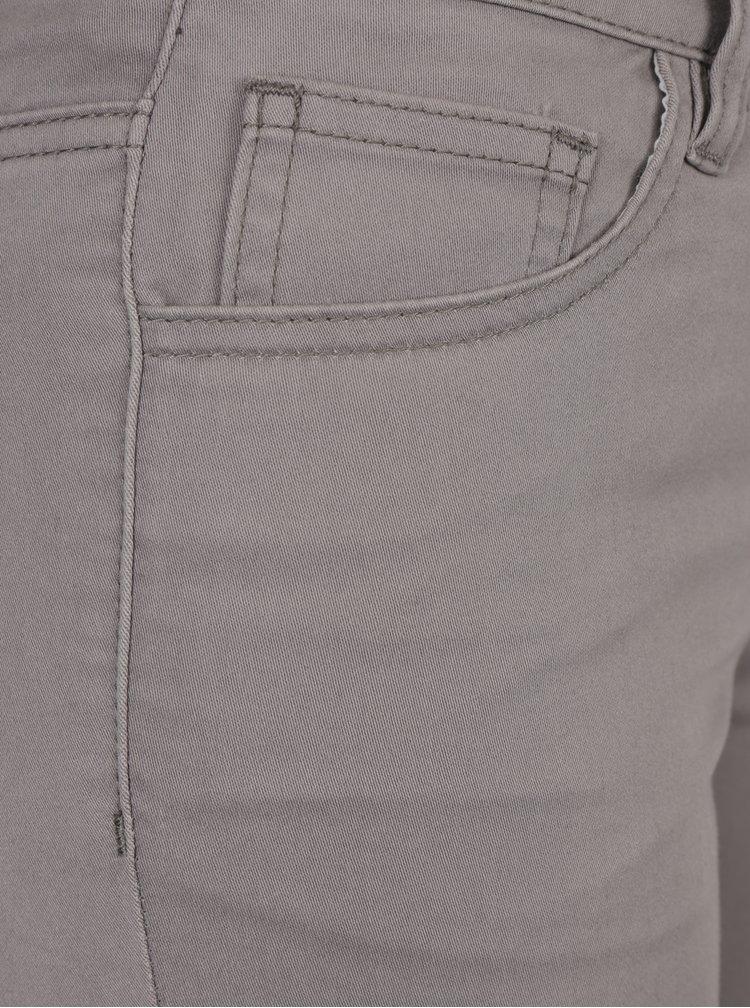 Šedé dámské zkrácené kalhoty Broadway Jane