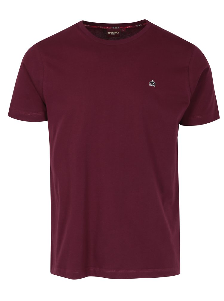 Vínové tričko s krátkým rukávem Merc