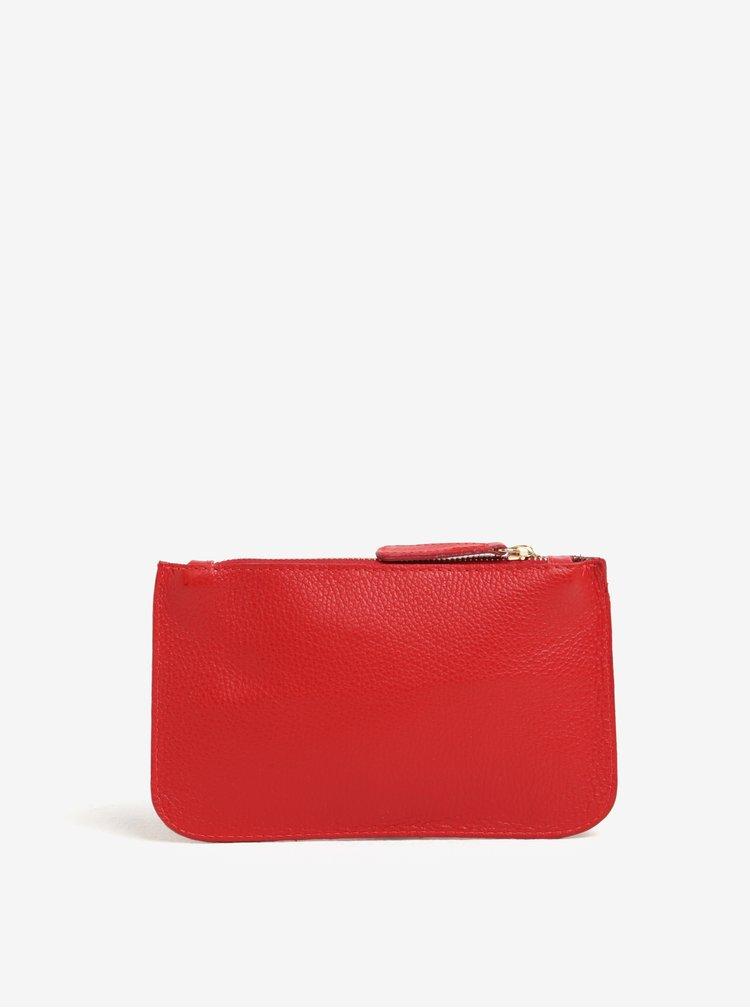 Červená kožená kosmetická taštička ZOOT