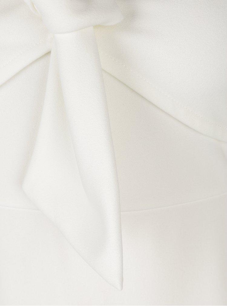 Krémové pouzdrové šaty Dorothy Perkins