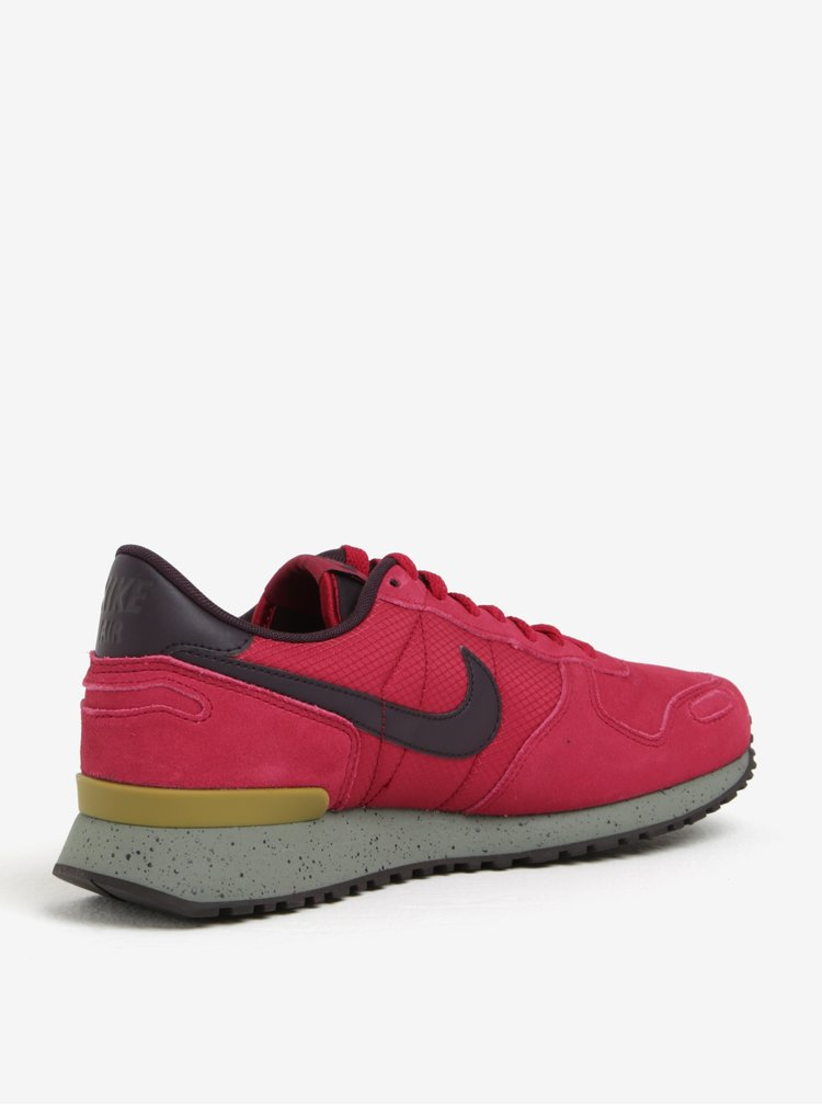Pantofi sport roz din piele intoarsa pentru barbati Nike Air Vortex