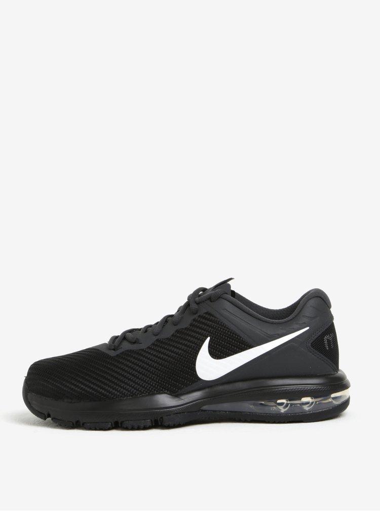 Pantfi sport negri  pentru barbati Nike Air Max Full Ride