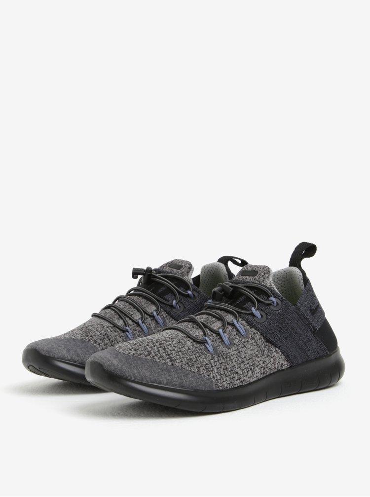 Šedo-černé dámské tenisky Nike Free RN Commuter
