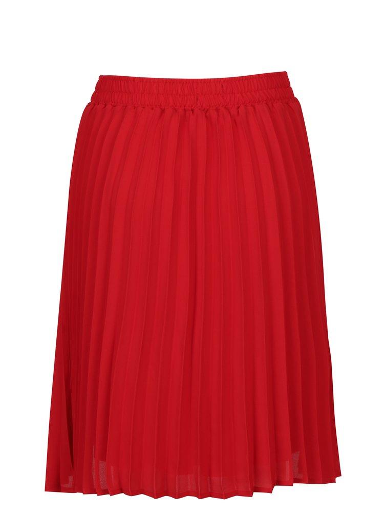 Červená plisovaná sukně Broadway Sukie